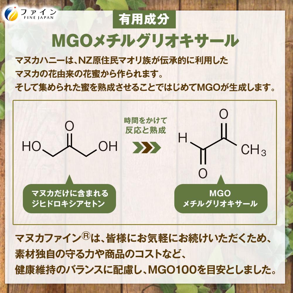 有用成分MGOメチルグリオキサール